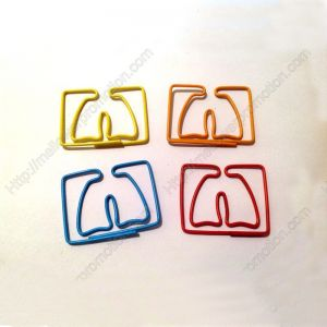 Lung Paper Clips | Creative Gifts (1 dozen/lot,41*35 mm)