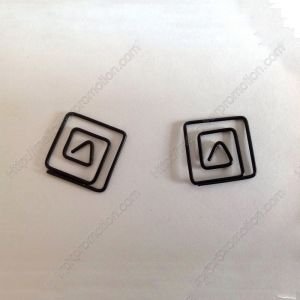 Square Paper Clips | Business Gifts (1 dozen/lot)