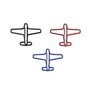 Airplane,Vehicle Paper Clips | Cool Gifts (1 dozen/lot,Mini:250 dozen)