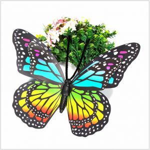 40cm 3D Jumbo Artificial Butterflies for wedding, market, stage decoration | Suspensible with inserted pole