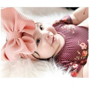 Baby Girl Bow Headbands, Super Elastic Fashion Baby Head Ornaments, Baby Girl Hair Bow and Headbands