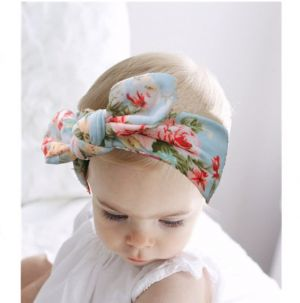 New-style Baby Printed Cross Headbands, Simple Bohemian Baby Fashion Headbands