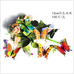 12cm Colorful Swallowtails | 3D Artificial Simulation Butterflies