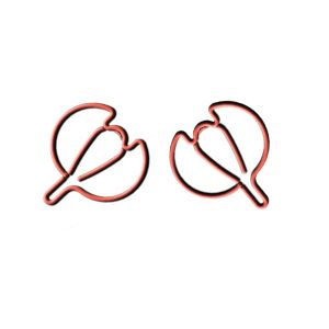Nutmeg Shaped Paper Clips | Fruit, Vegetable Paper Clips (1 dozen/lot)