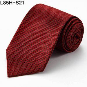 red silk neckties, jacquard woven ties