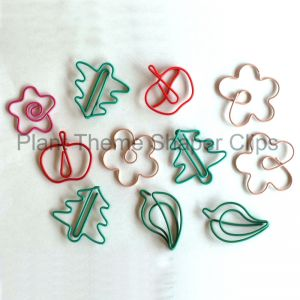 Plant Paper Clips | Holiday Ornaments (1 dozen/lot)