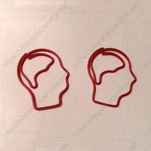 Head Paper Clips | Body Parts Paper Clips (1 dozen/lot,29*35 mm)