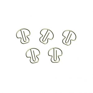 Mushroom Paper Clips | Plant Fruit | Food (1 dozen/lot)
