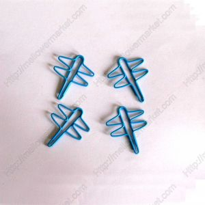 dragonfly shaped paper clips, insect paper clips