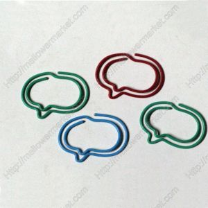 Talk Bubble Paper Clips | Unique Bookmarks (1 dozen/lot,31*22 mm)