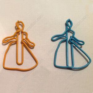 Cinderella Paper Clips,Unique Gifts (1 dozen/lot)