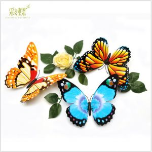 22cm Artificial Simulation Butterflies | 3D Decorative Butterfly Decals for Living room & kids room