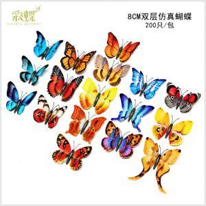3D Simulation Butterflies | 8cm Artificial Butterflies for home & fridge decoration