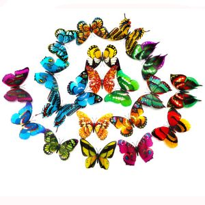 12cm Simulation Luminous Butterflies | Creative Décor for Home and Living Room