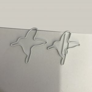 hummingbird shaped paper clips, custom paper clips, business gifts