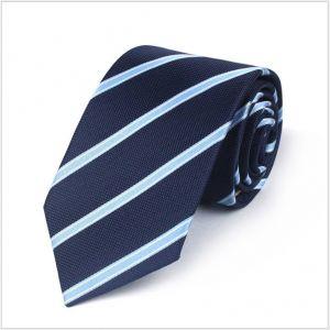 diagonal polyester ties, custom neckties