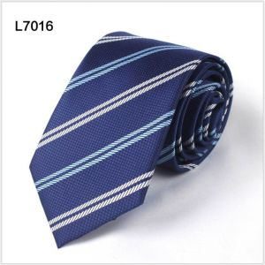 twill polyester ties, custom neckties in navy blue