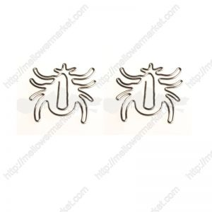 Spider Shaped Paper Clips | Insect Paper Clips (1 dozen/lot)