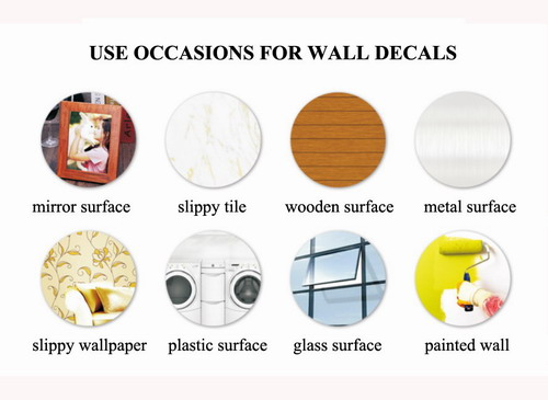 applicable occasions for 3d butterfly wall decals