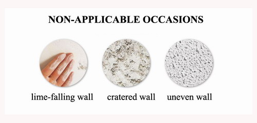 non-applicable occasions for wall stickers